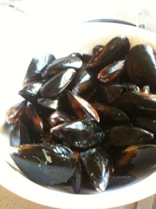 Gorgeous NW Mussels