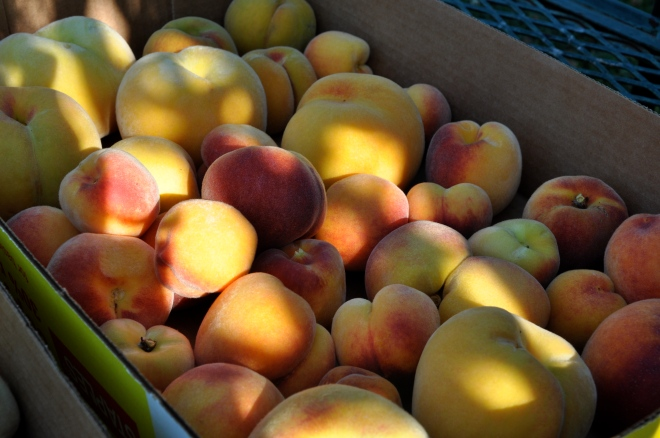 Box Full of Peaches