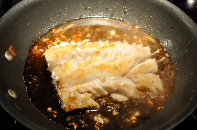 Cod in a Pan