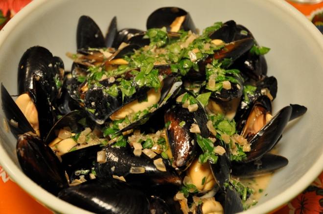 Mussels in Guinness Cream Broth