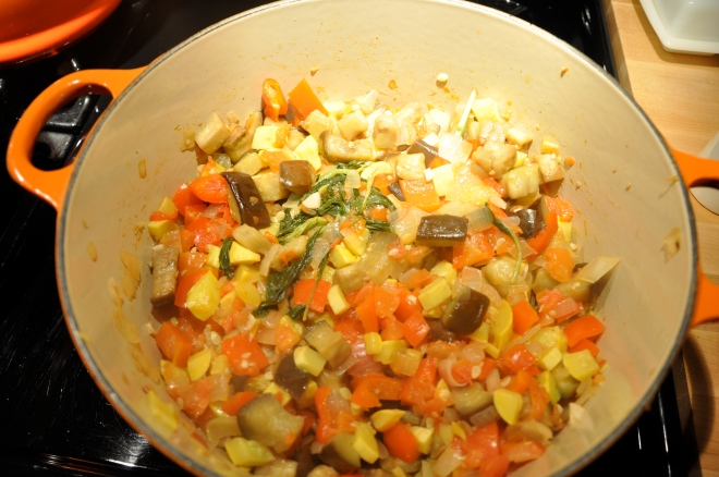Add the Eggplant