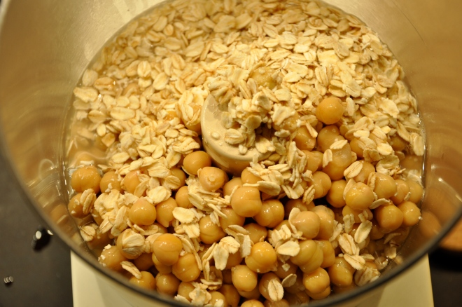 Oats & Garbanzo Beans
