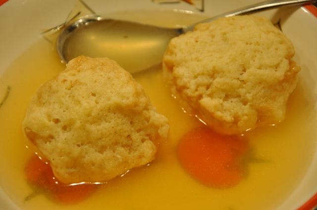 Delicious Matzo Ball Soup