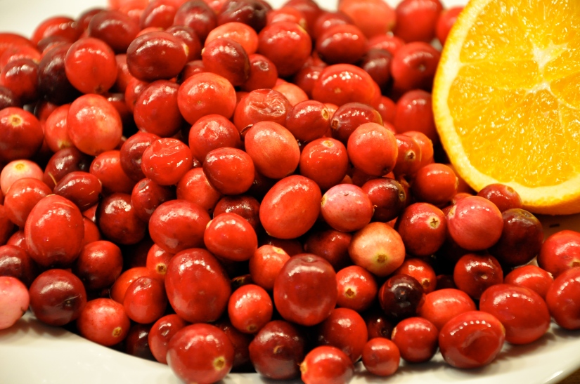 Thanksgiving Cranberry Sauce with Orange Juice & Orange Zest