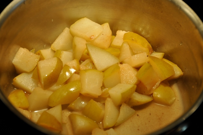 Pears, Cinnamon and Nutmeg
