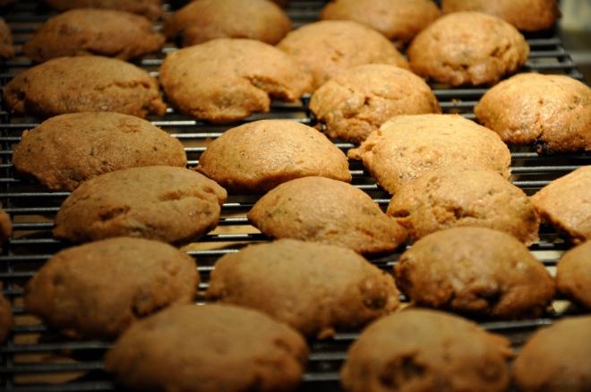Chai Spice Shortbread Cookies