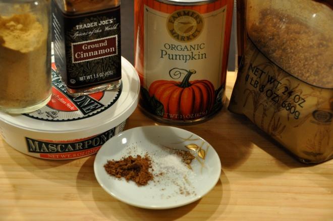 Pumpkin Creme Brulee Ingredients