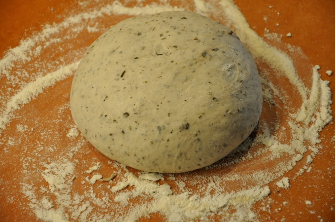 Dough Ball Rising