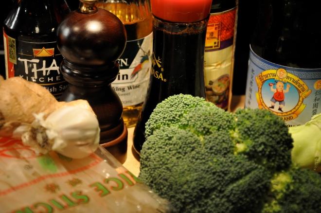 Pad Siew Ingredients