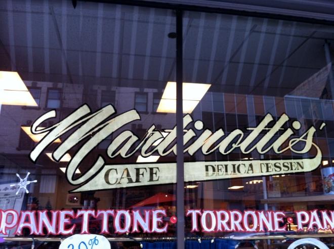 Martinotti's Cafe and Deli in Portland