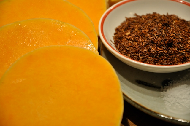 Butternut Squash, Rooibos Tea and Salt