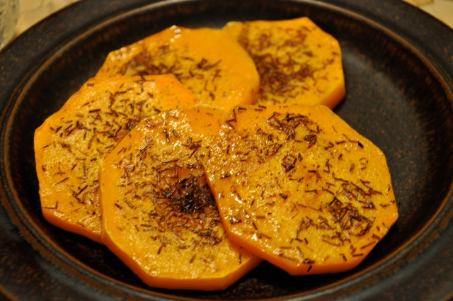 Roasted Butternut Squash Rounds