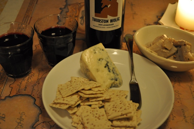 Washington Wine, Oregon Cheese, and Seattle Pickled Herring