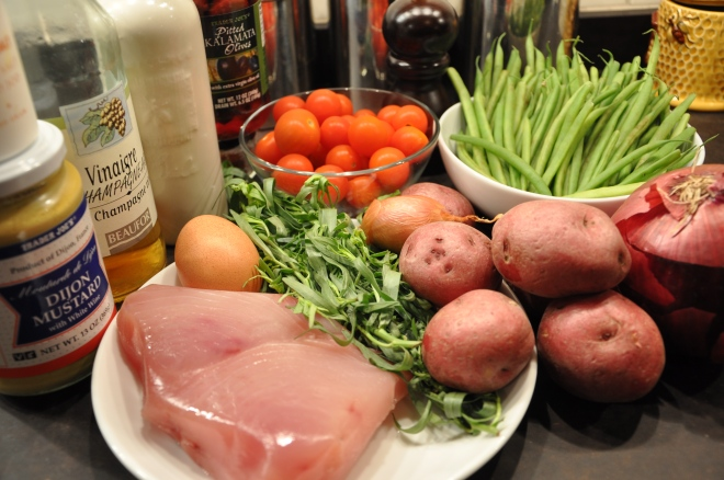 Tuna Nicoise Salad Ingredients