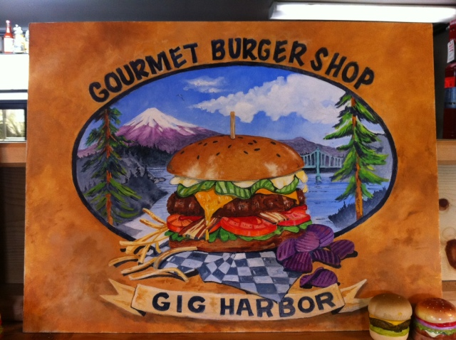 Gourmet Burger Shop in Gig Harbor