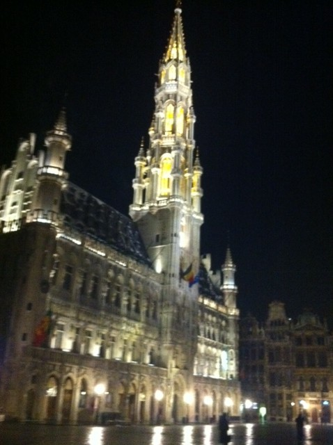 Belgium at Night