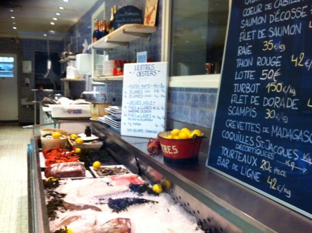 A Fish Market in Marche aux Porcs