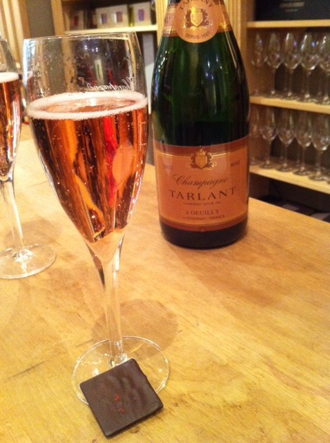 Chocolate & Champagne - Delightful!