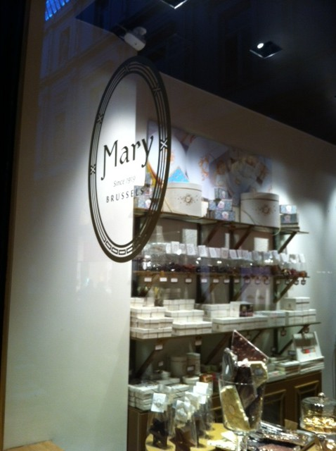 A Delightfully Named Chocolate Shop in Brussels