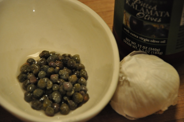 Capers, Garlic & Olive Oil: The Key to Happiness