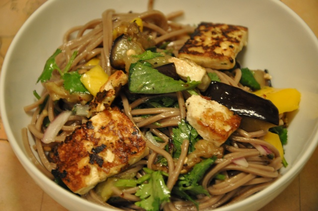 Soba Noodles with Eggplant and Mango - An Ottolenghi Favorite