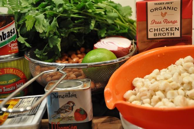 Posole Ingredients - Regard the Cute Pimenton!!