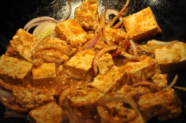 Saute the Tofu