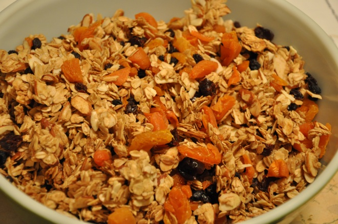 Mix in Two Cups of Dried Fruit