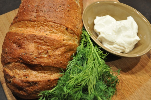Macrina Rye Bread with Dill and Sour Cream !!!!!