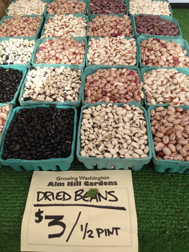 Beautiful Beans from Alm Hill Gardens