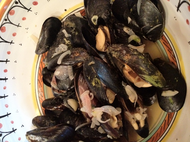 Mussels From the Beach