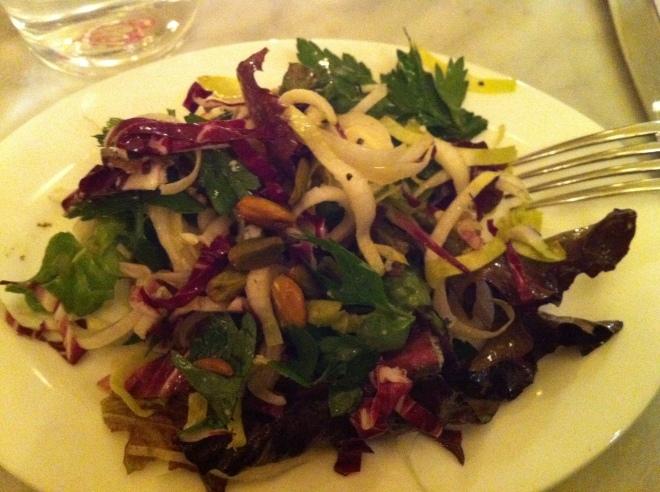 Radicchio Frisee Salad