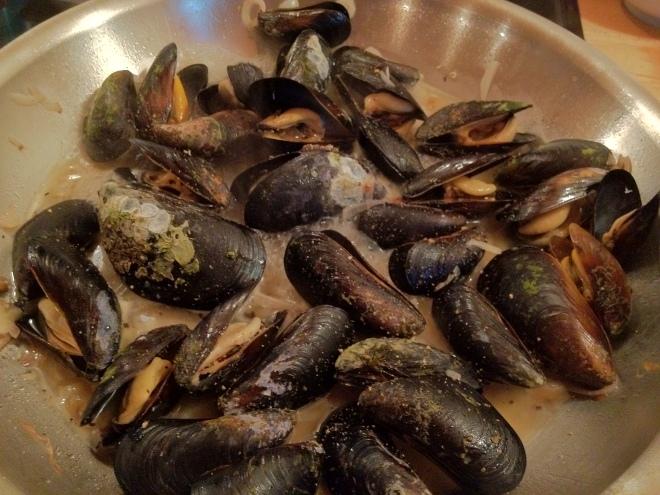 Saute with Shallots, Garlic and White Wine