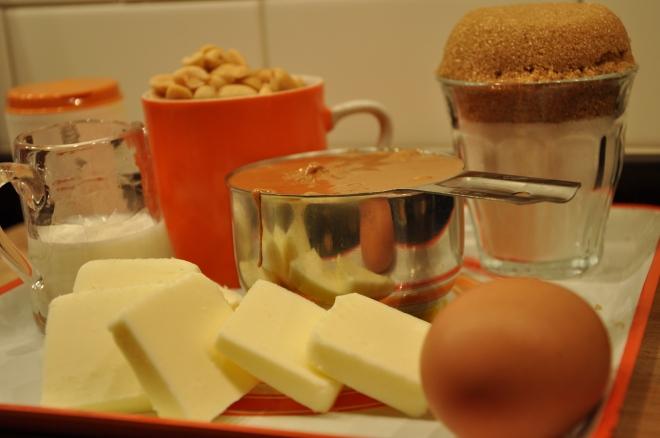 Peanut Butter Sandwich Cookie Ingredients