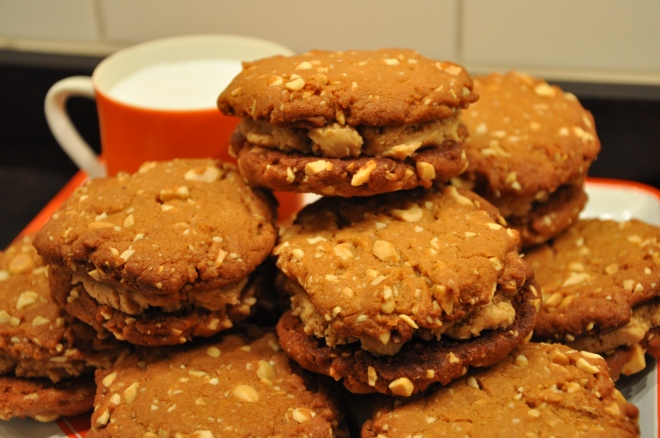 Homemade Peanut Butter Sandwich Cookies