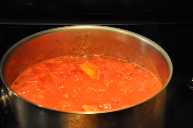 Cook Down the Tomatoes