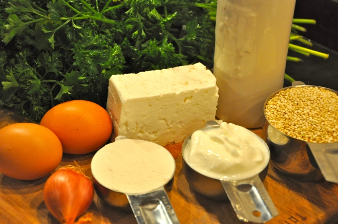 Quinoa Cakes Ingredients