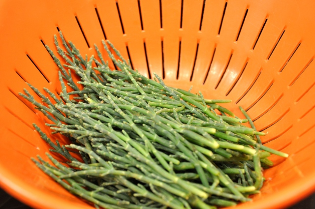 Rinse Your Sea Beans