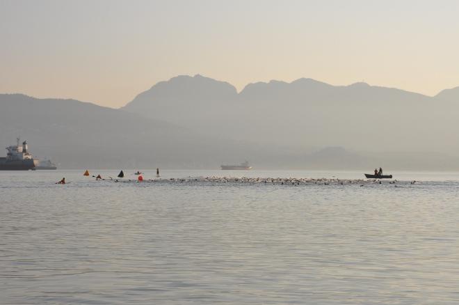 Half Ironman Vancouver, B.C. Swim