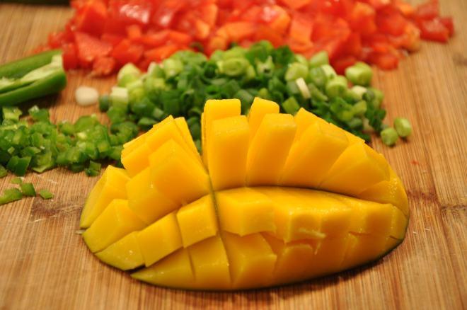 Flayed Mango