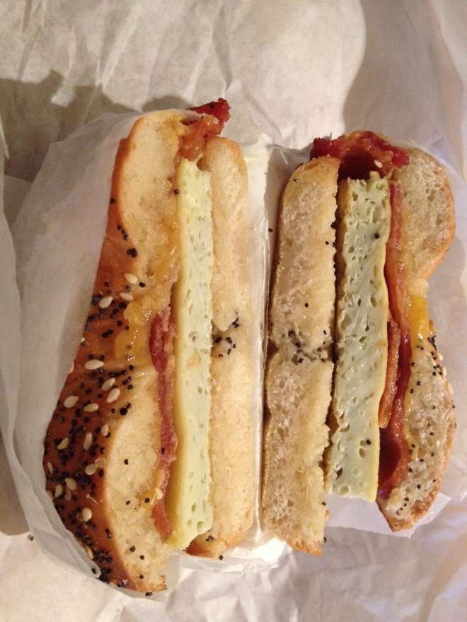 Bagel Sandwich!