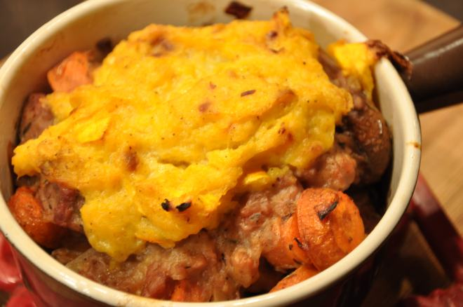 Shepherd's Pie with Kabocha Squash Topping