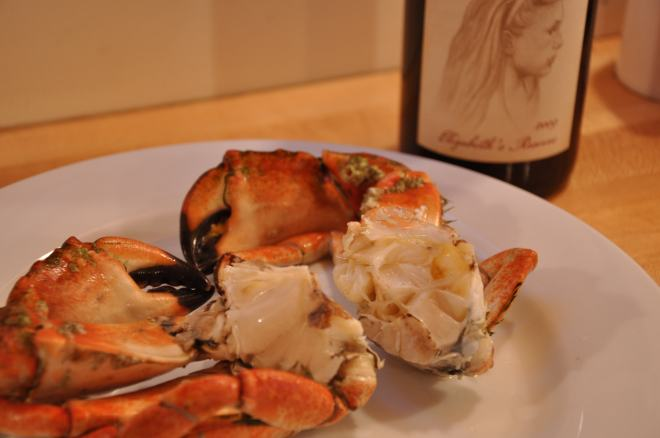 Rockfish Crab with Wine