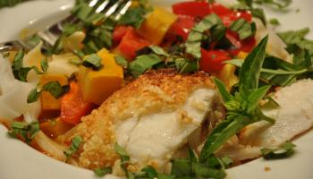 Tarragon Halibut In Hazelnut Butter Seattle Foodshed