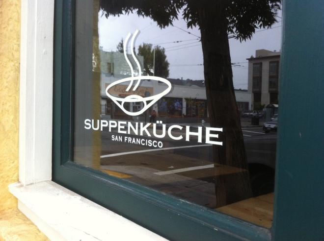 Cute Window into Suppenkuche