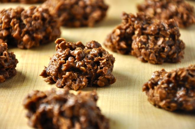 No-8ake Chocolate Oatmeal Cookies