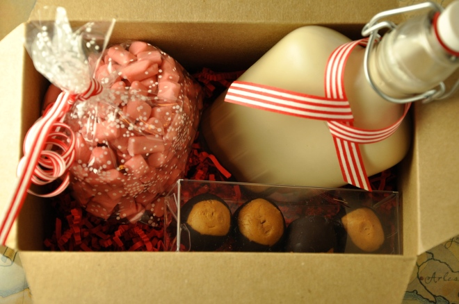 Homemade Holiday Gift Pack – Buttermints, Baileys and Buckeyes