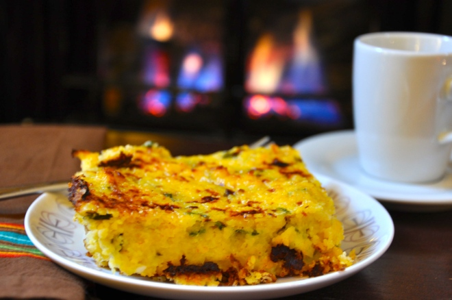 Cozy Casserole by the Fire
