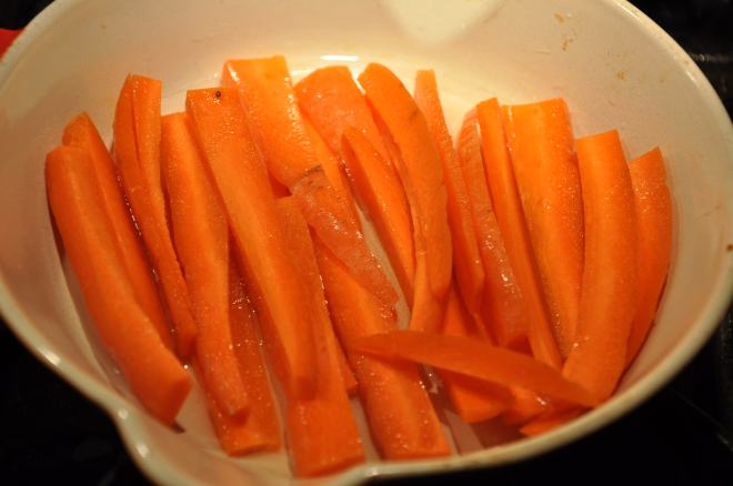 Slightly Sweet Carrots