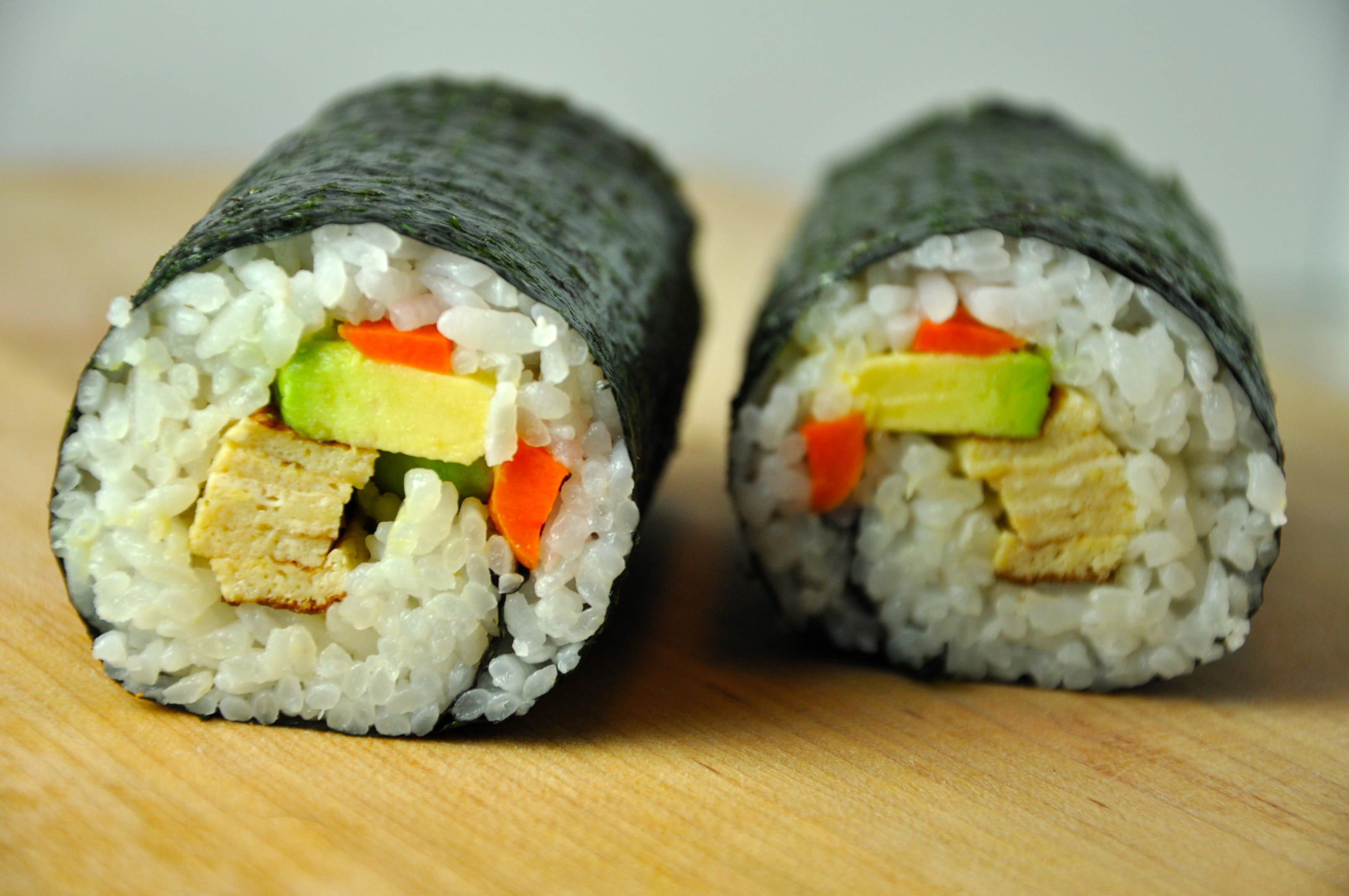 Futomaki Sushi Rolls A Lesson From Grandma Toshiko